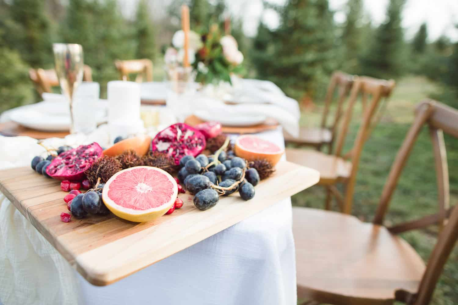 Designed by Eleven Events and Planning at Cedar Valley Forest
