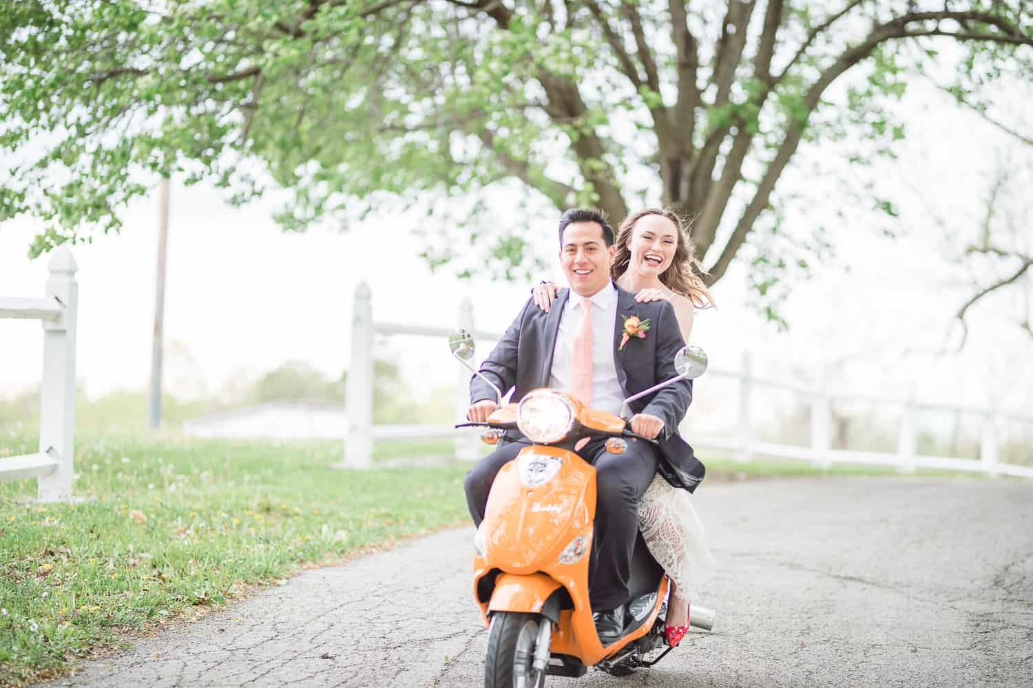 Scooter World wedding Kansas City