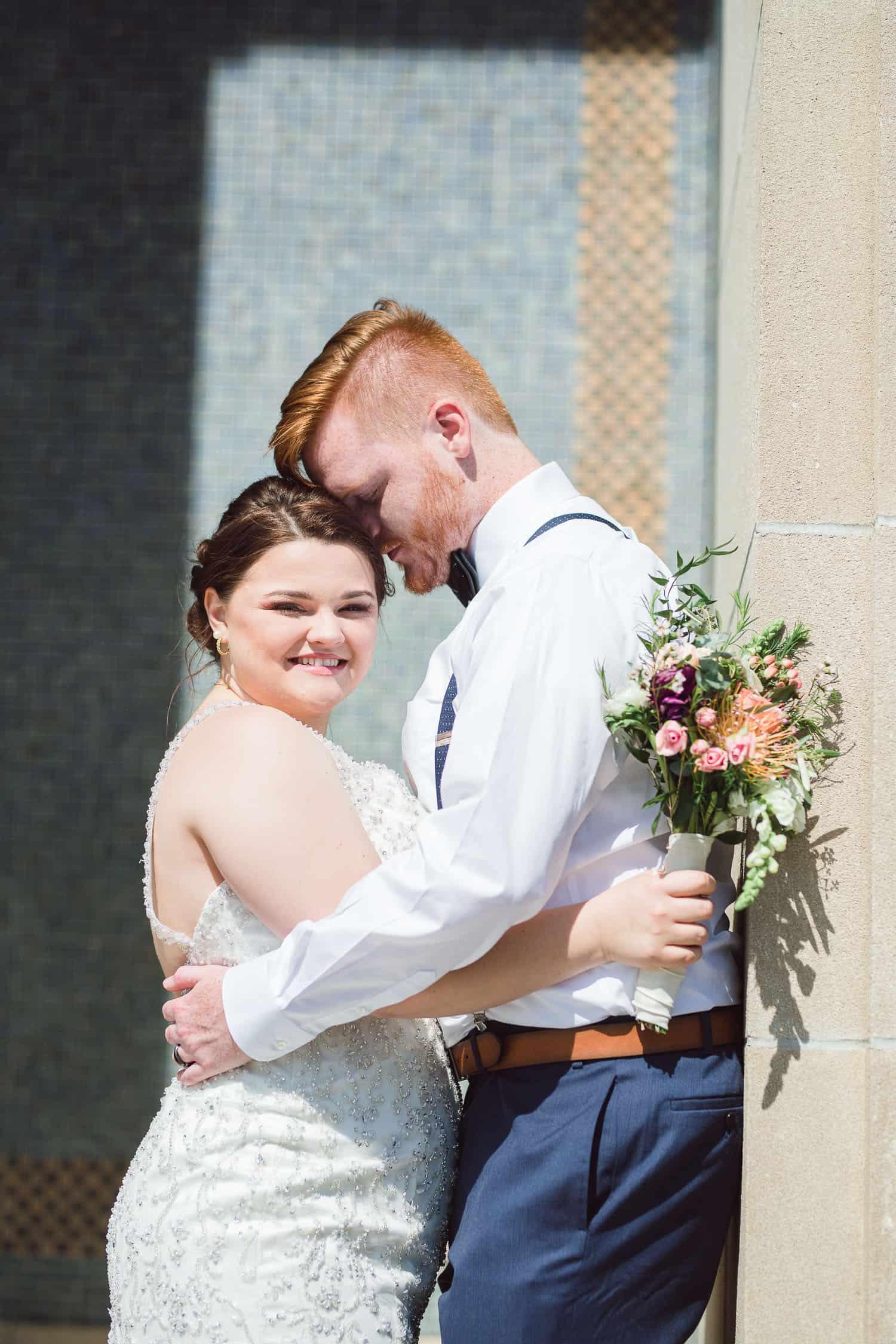 Liberty Memorial Kansas City wedding ceremony
