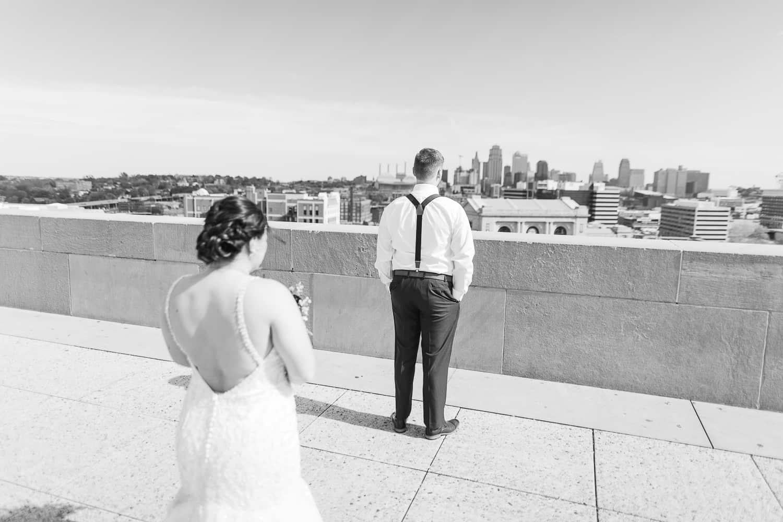 Liberty Memorial Kansas City wedding