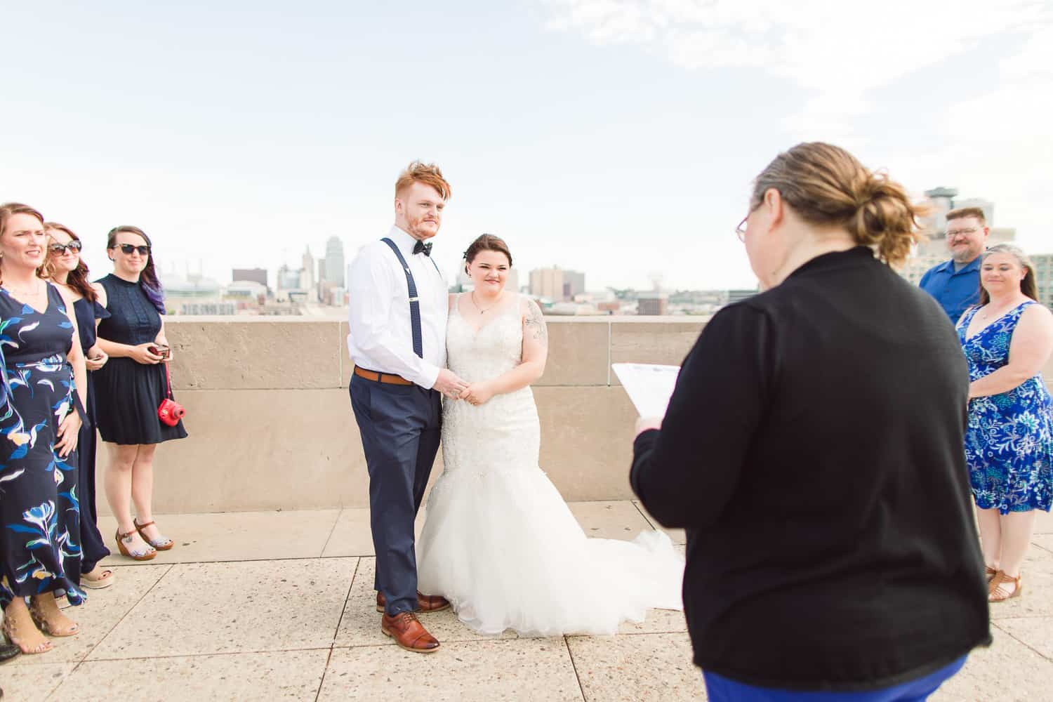 Liberty Memorial Kansas City wedding