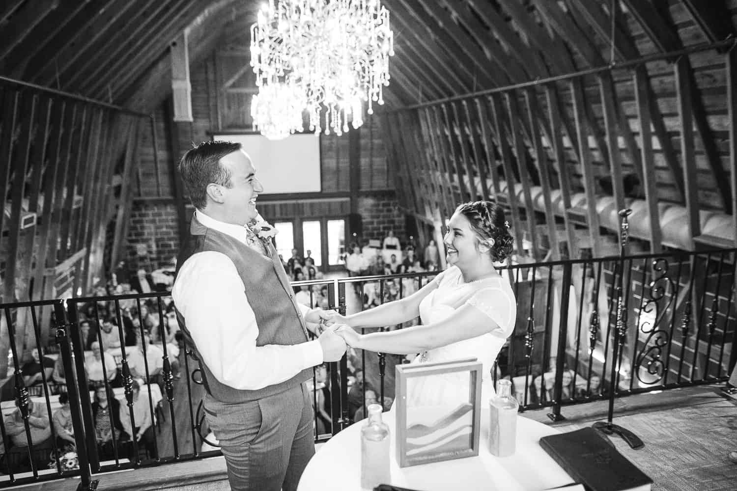 Beautiful ceremony at the brownstone topeka