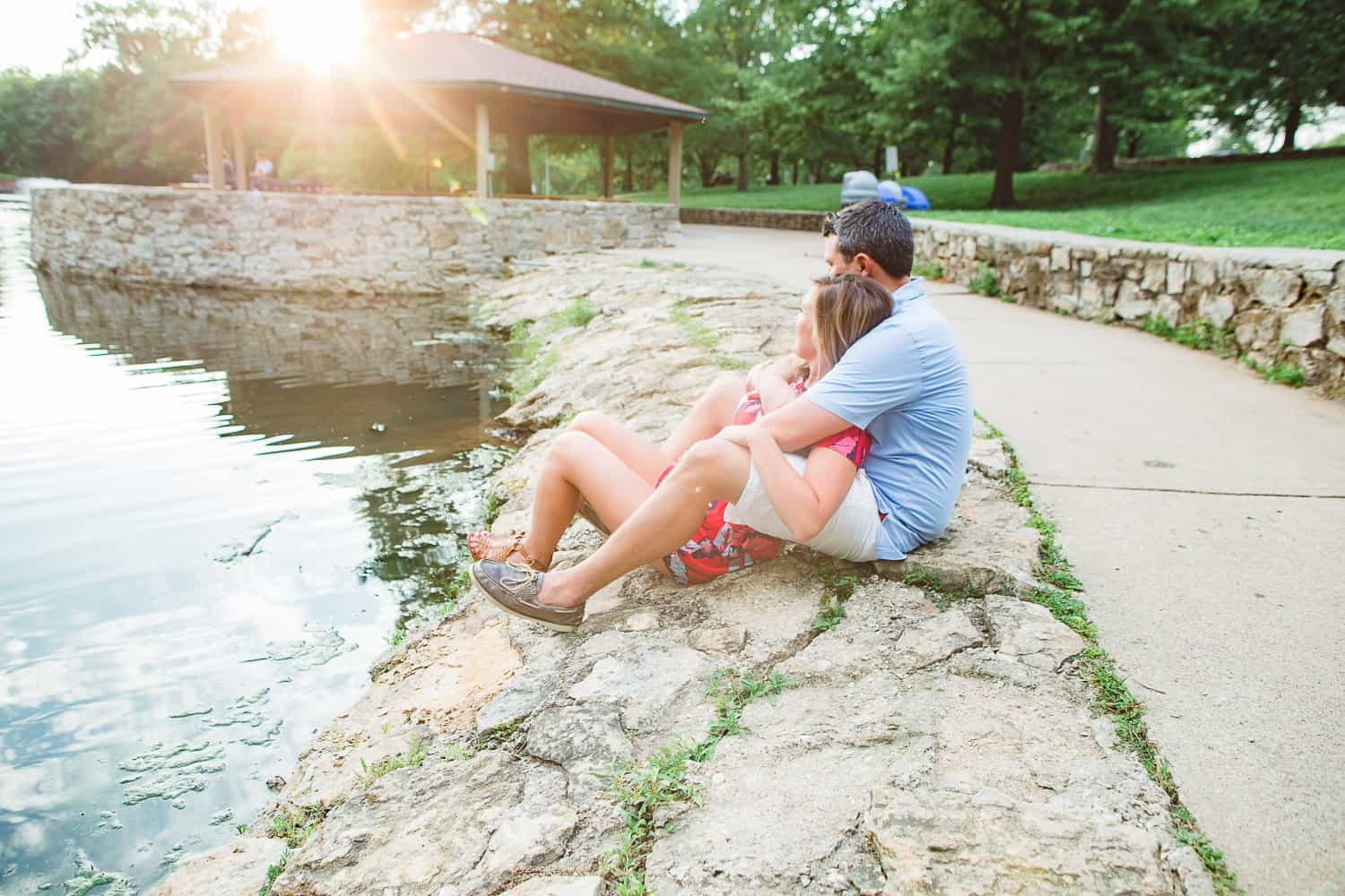 Antioch Park engagement photography