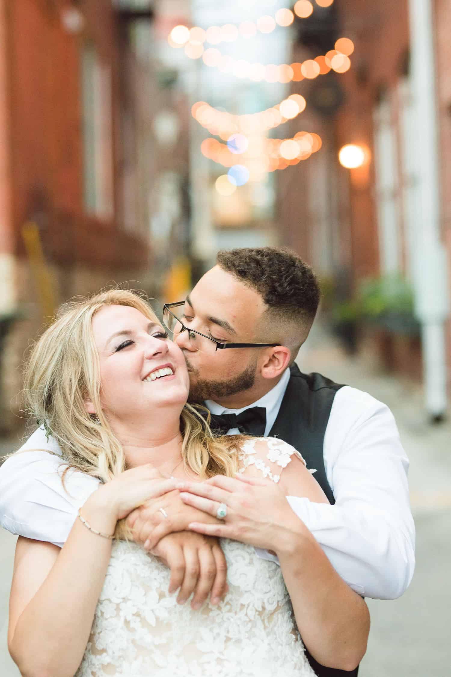 Crossroads wedding portraits in Kansas City