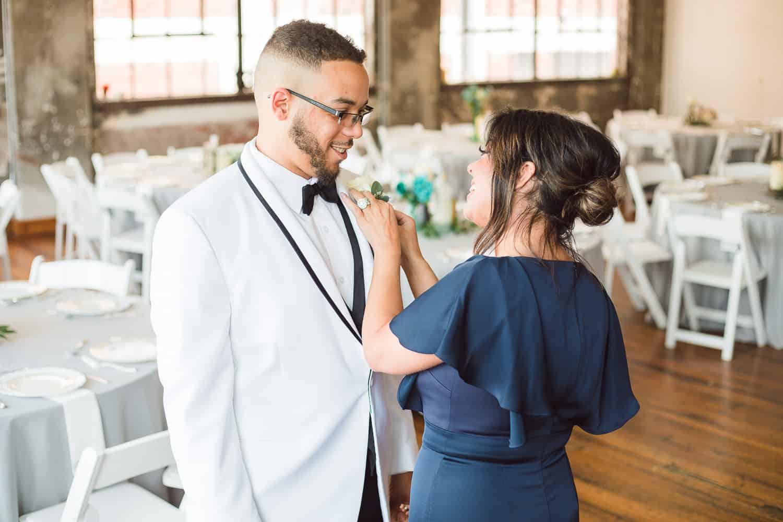 Downtown Kansas City wedding photography