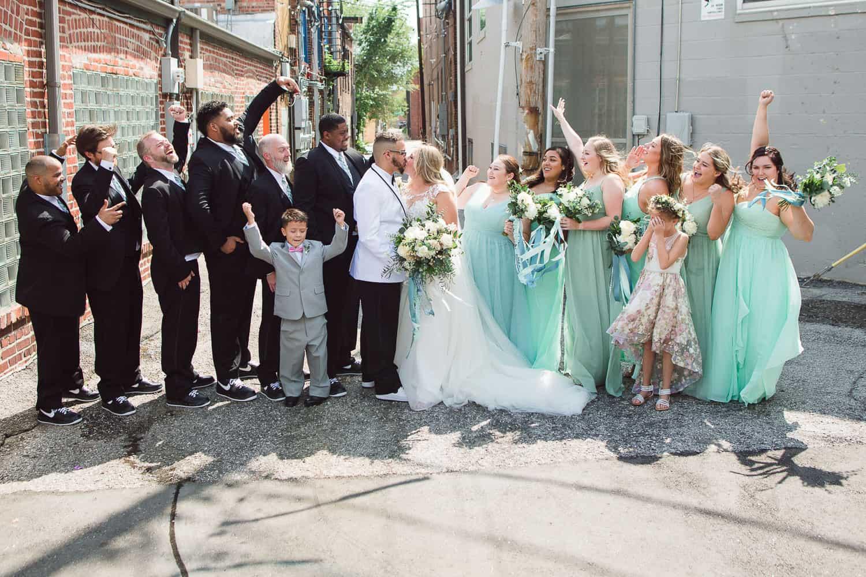 Crossroads Kansas City wedding photography