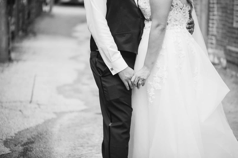 Bride and the Bauer Kansas City wedding reception