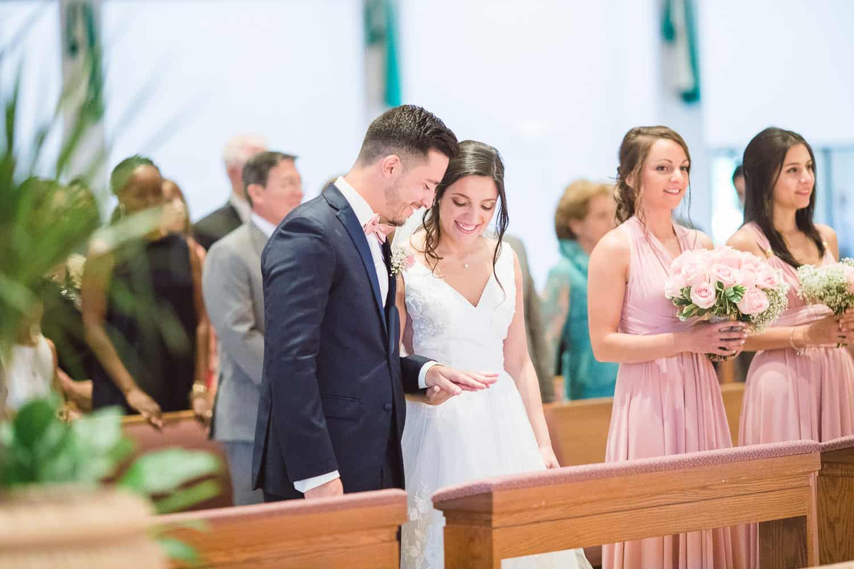 Kansas City catholic wedding ceremony