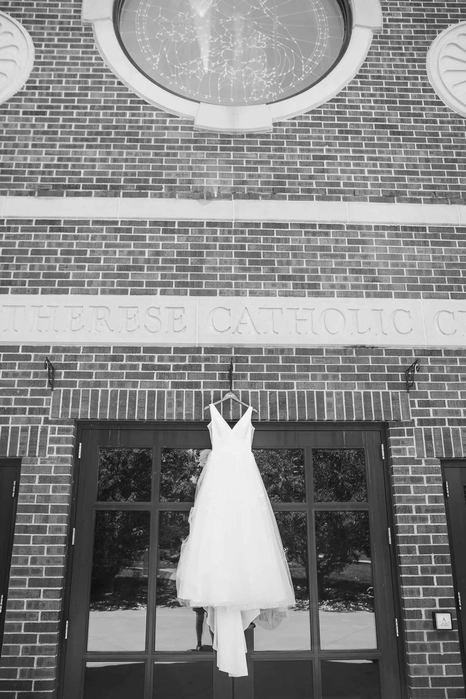 St. Therese Catholic Parish wedding