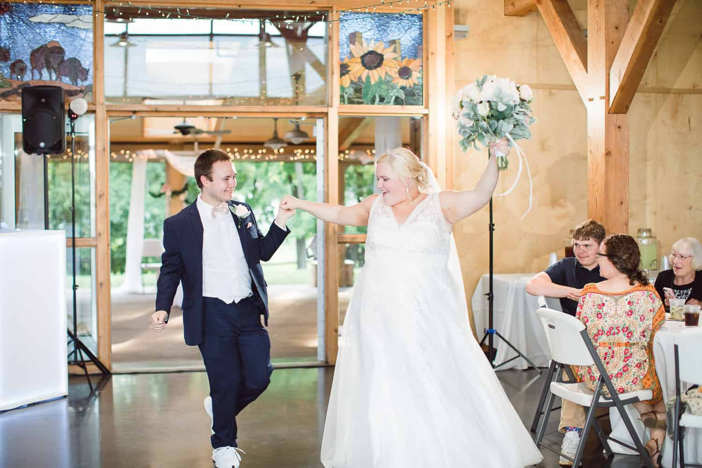 Olathe wedding reception
