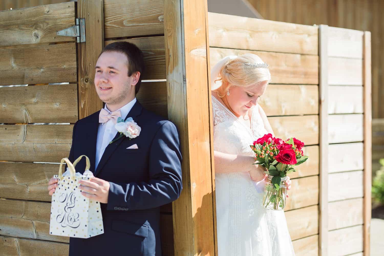 Wedding ceremony in Olathe Kansas