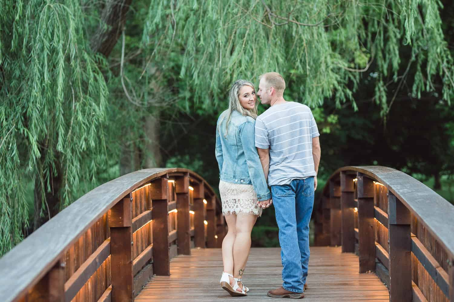 Loose Park Engagement Session