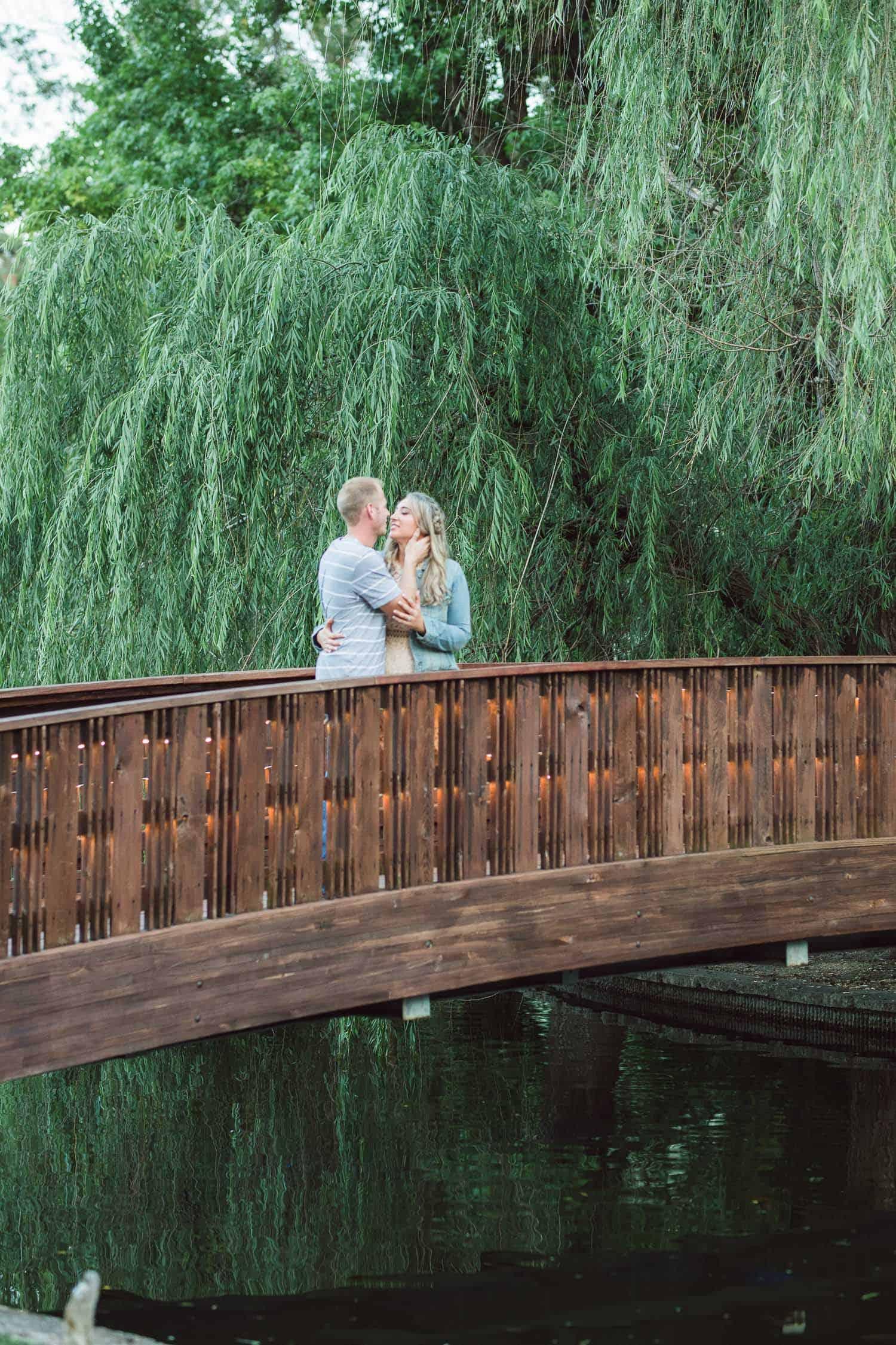 Loose Park Engagement Session