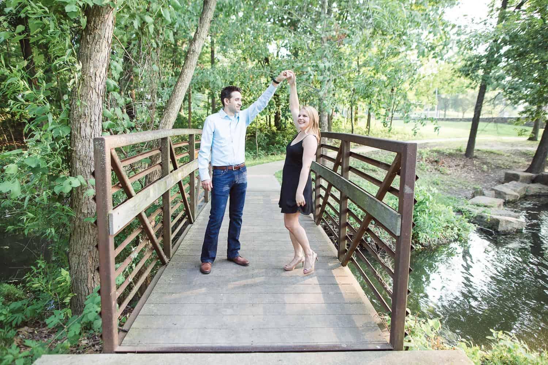 Antioch Park engagement session