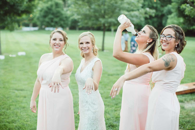 Wedding lawn games at Timber Creek