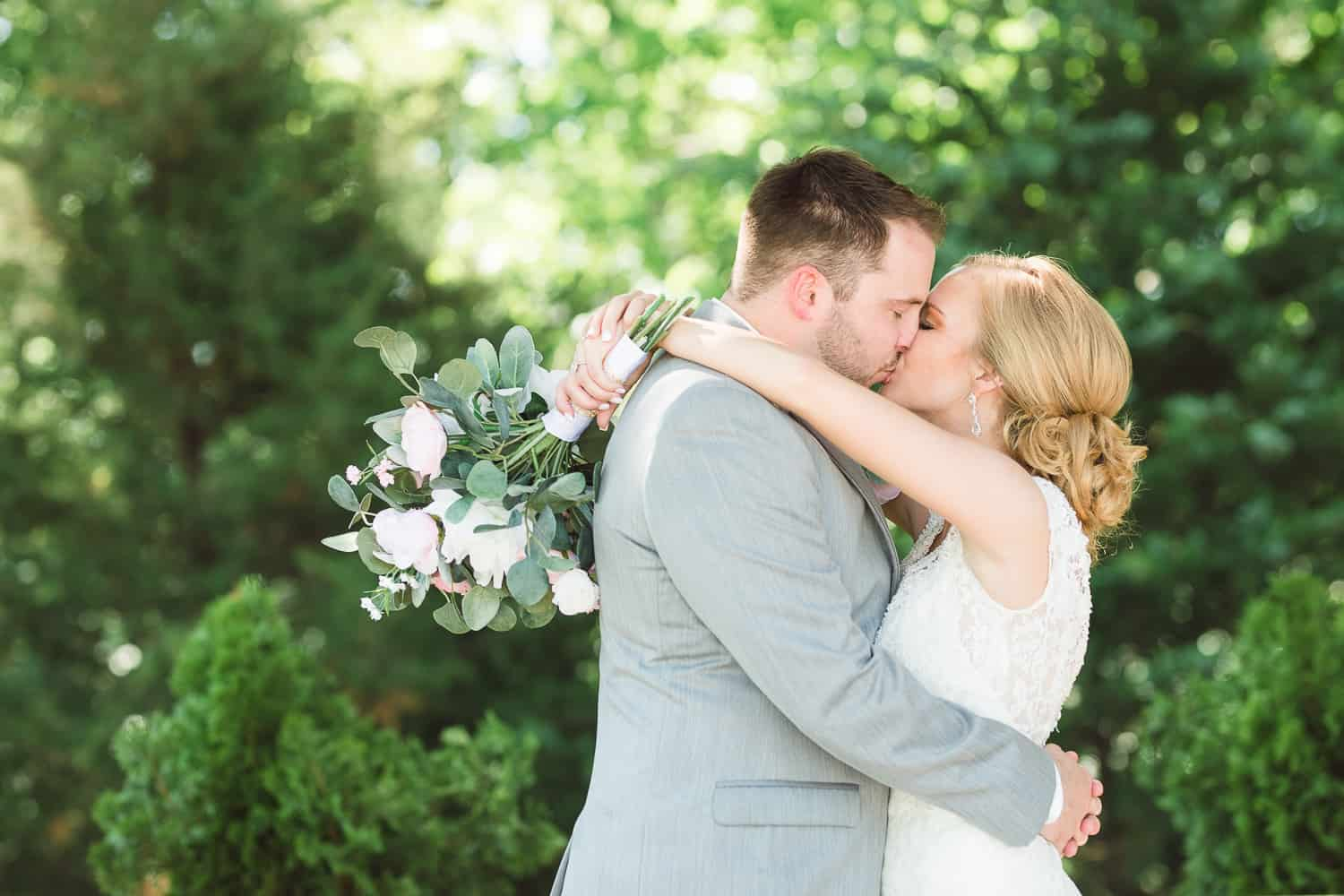 Outdoor wedding in St. Joe Missouri