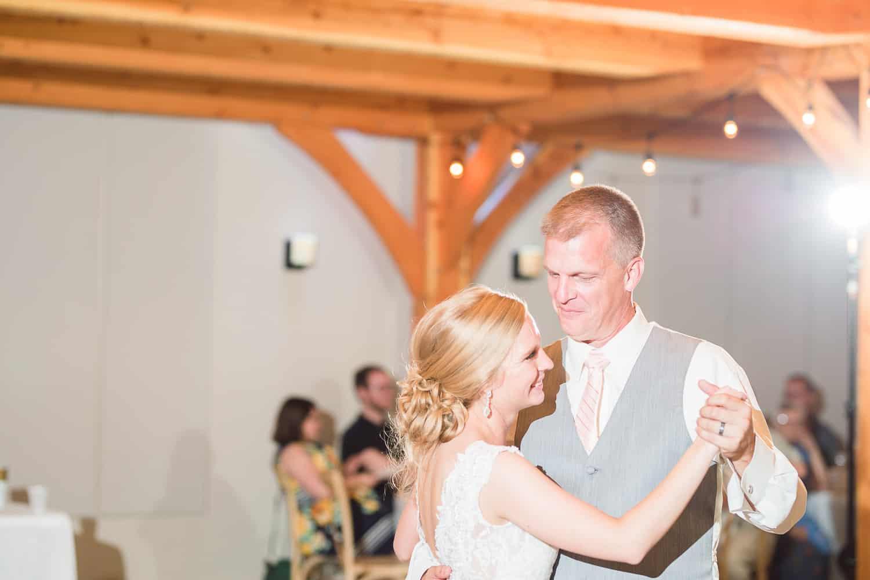 Timber Creek event center wedding