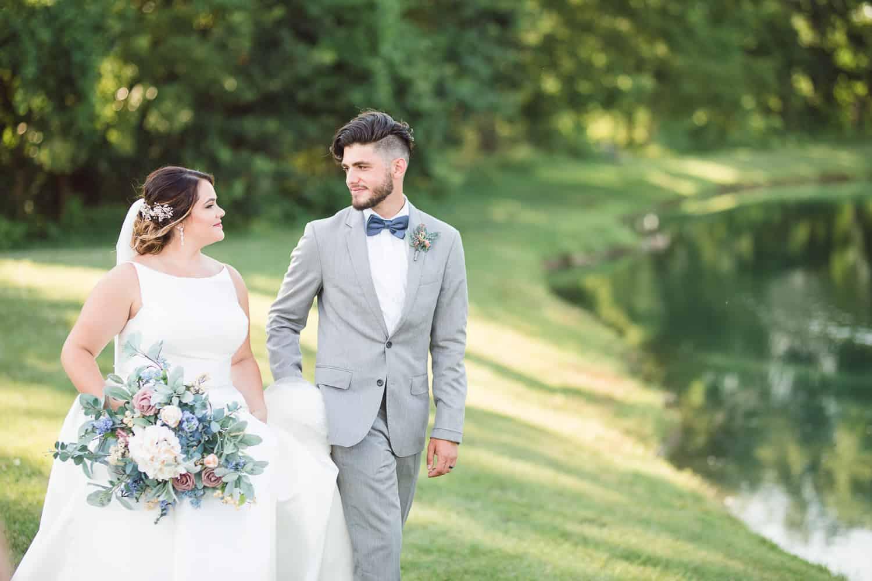 Wedding portraits at World Revival Church