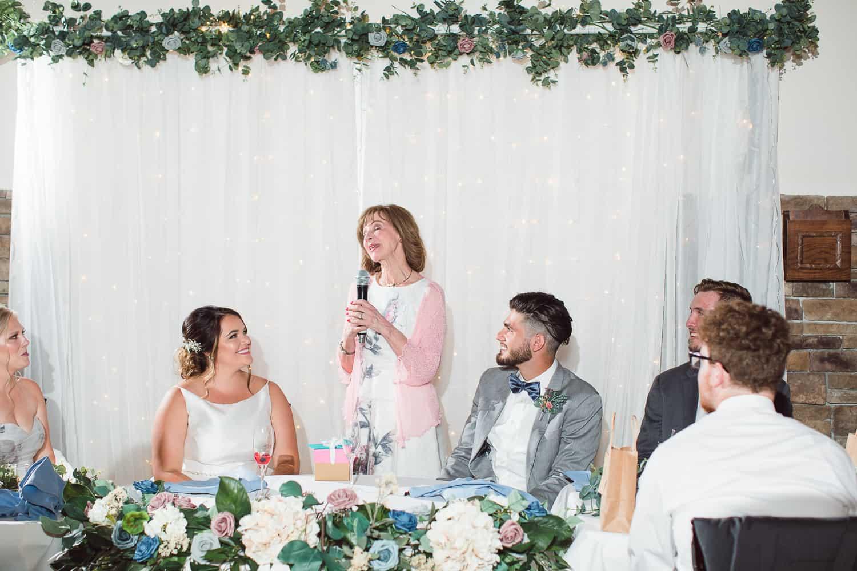 Pavilion Event Space wedding reception