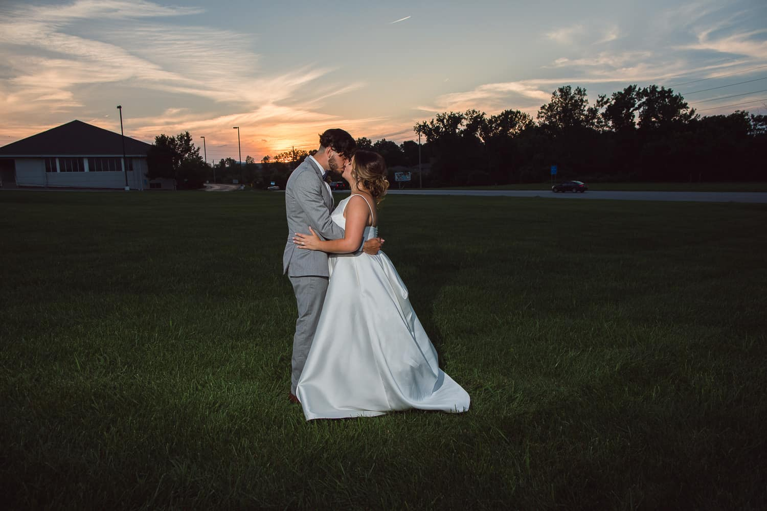 Sunset portraits at Pavilion Event Space