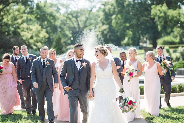 Loose Park wedding portraits