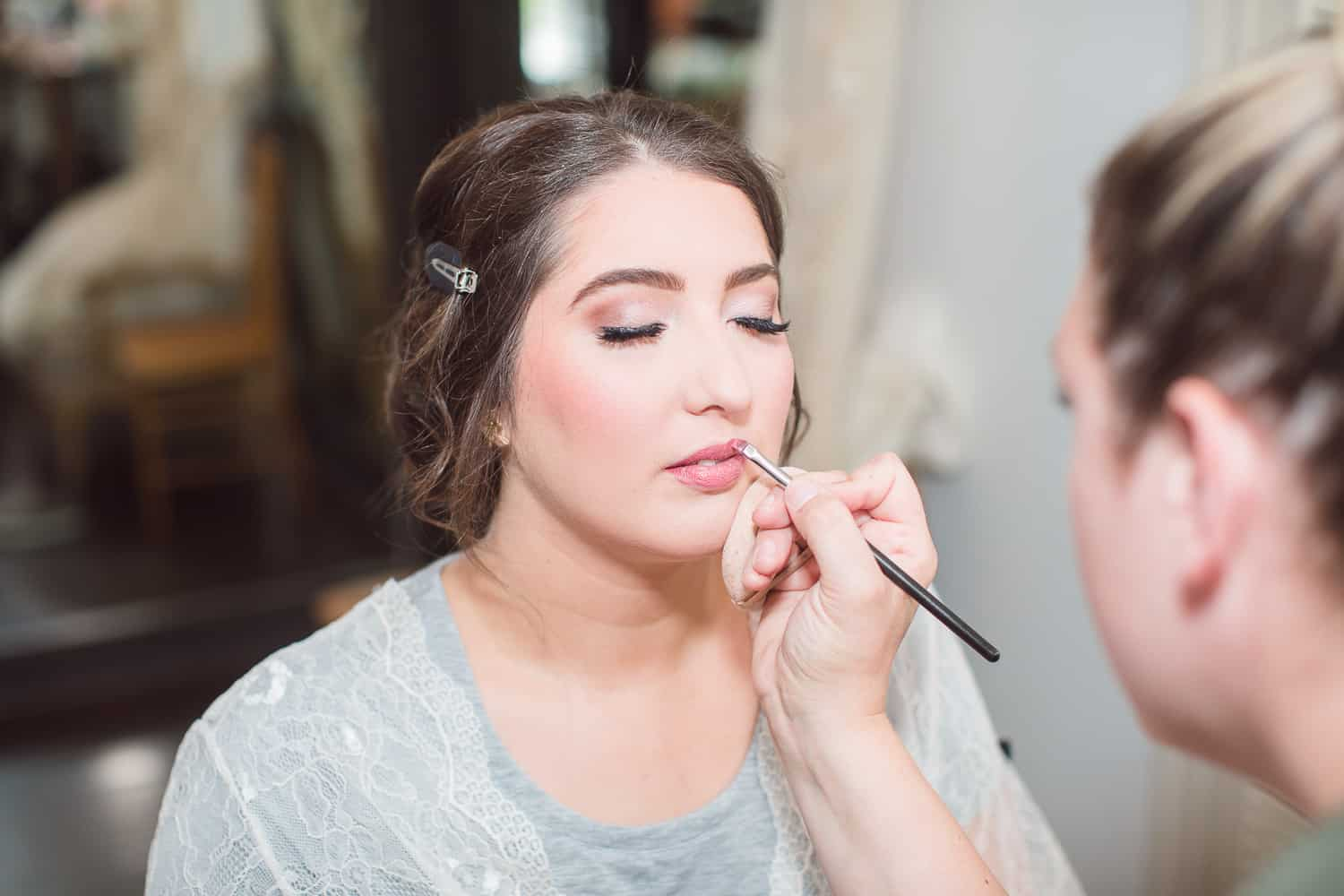 Bronzed and Blushed hair and makeup artists in Kansas City