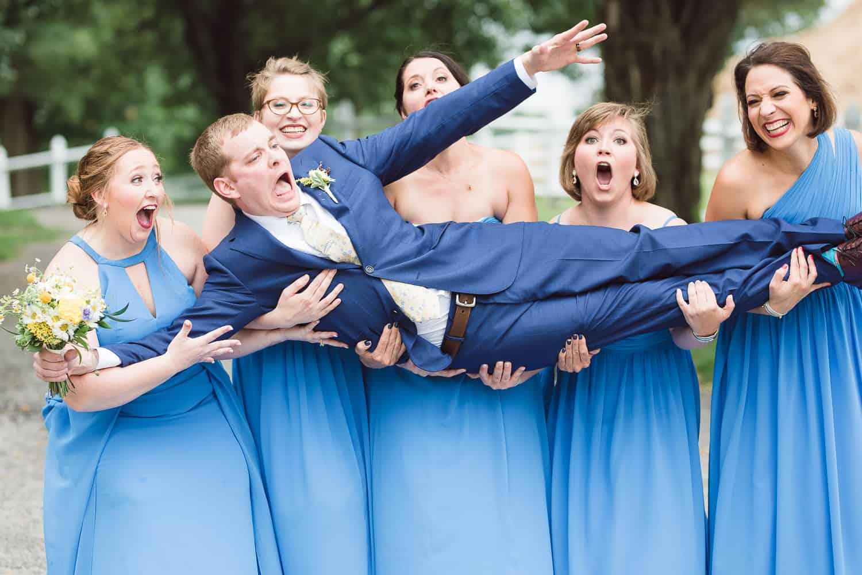 Summer wedding in Kansas City