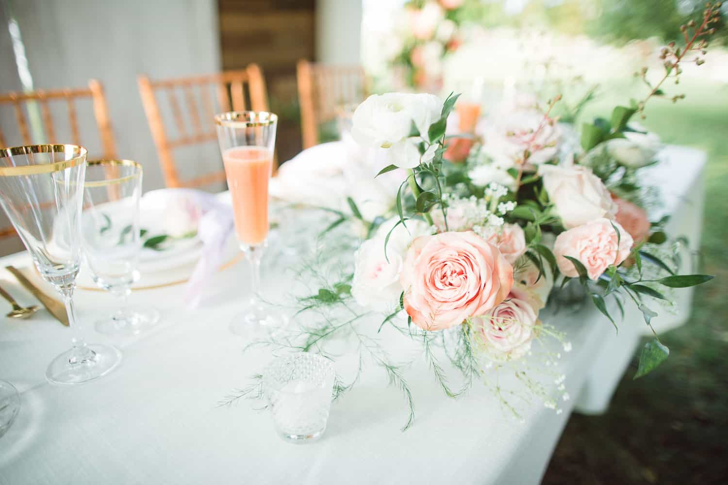 Beautiful tablescape by Eleven Events and Planning