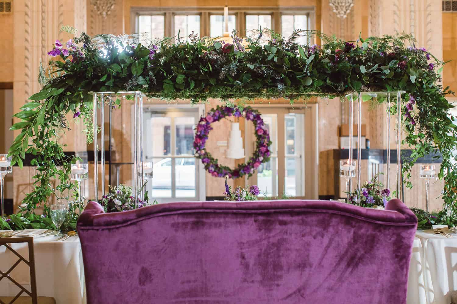 Table design by Eleven Events and Planning