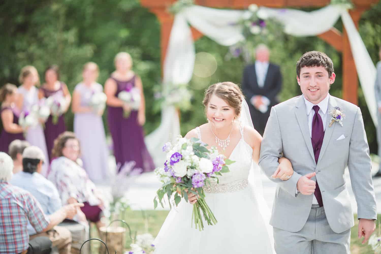 Northwest Missouri wedding