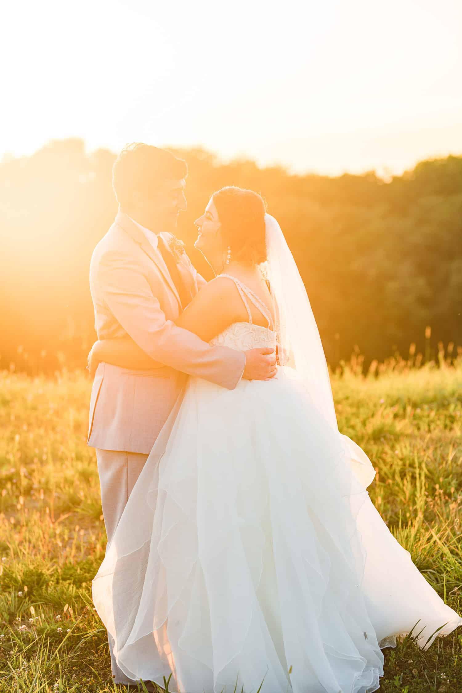 Summer wedding in Missouri