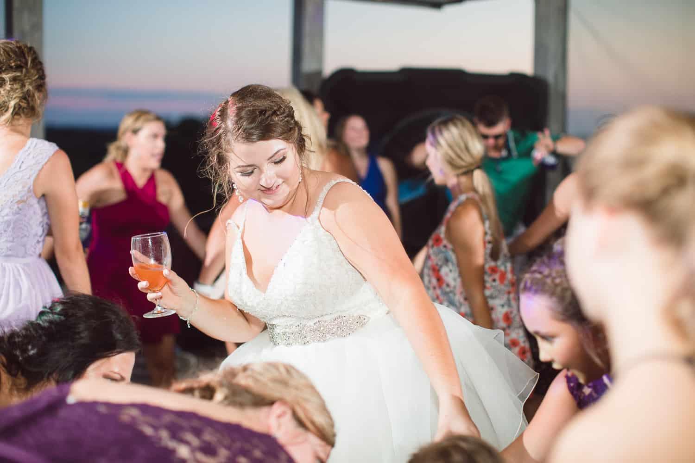 Timber Creek barn wedding in Missouri