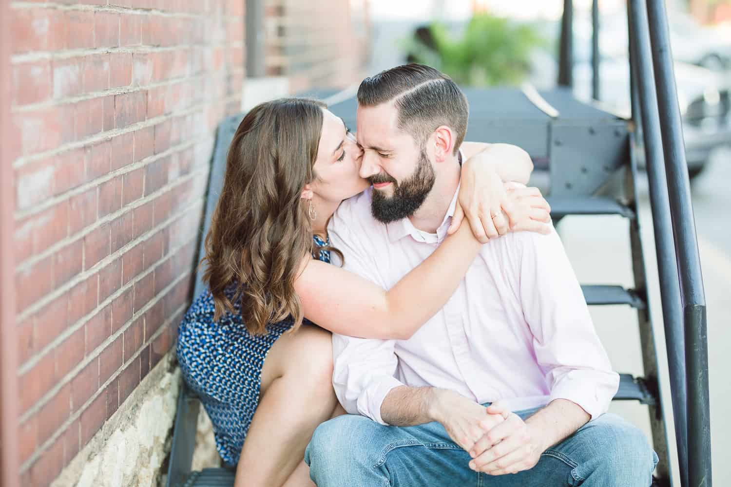 Freight House Kansas City engagement session