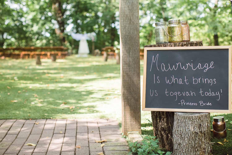Schwinn Produce Farm Wedding