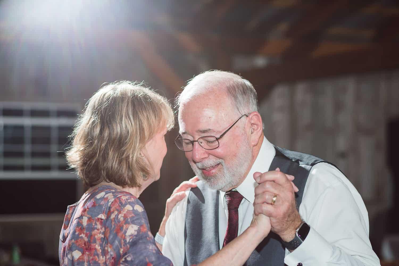 Schwinn produce farm wedding reception