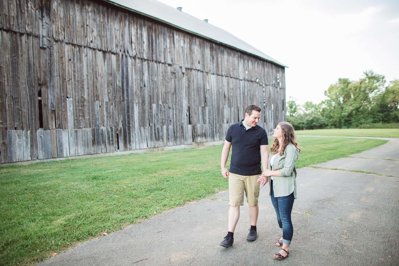 Weston Missouri engagement photographer