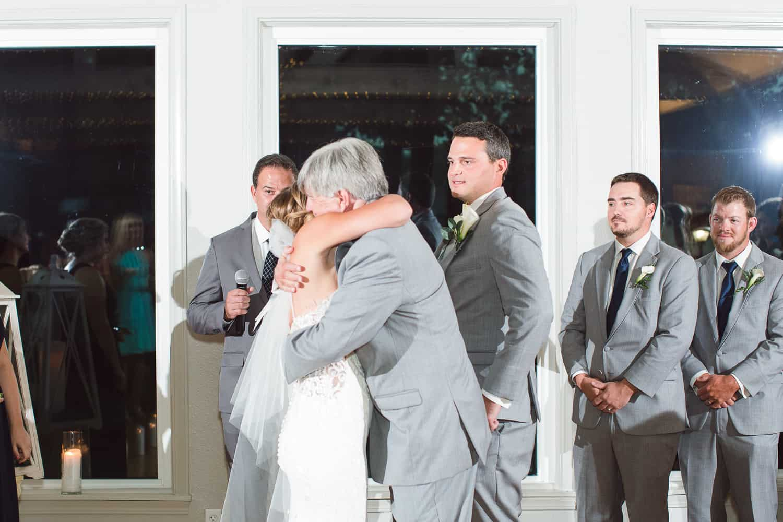 Beautiful Missouri Lake wedding