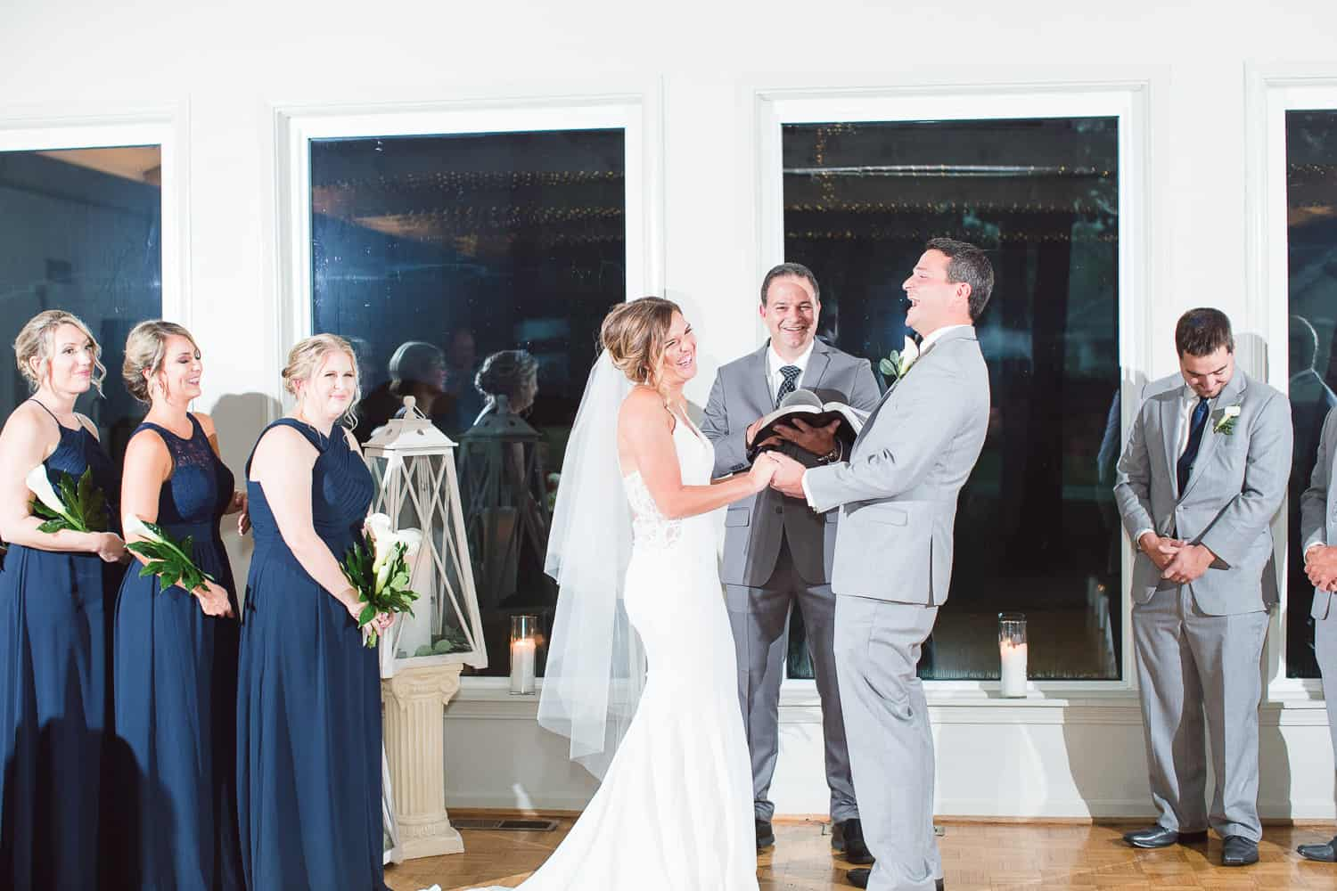 Beautiful Missouri Lake wedding