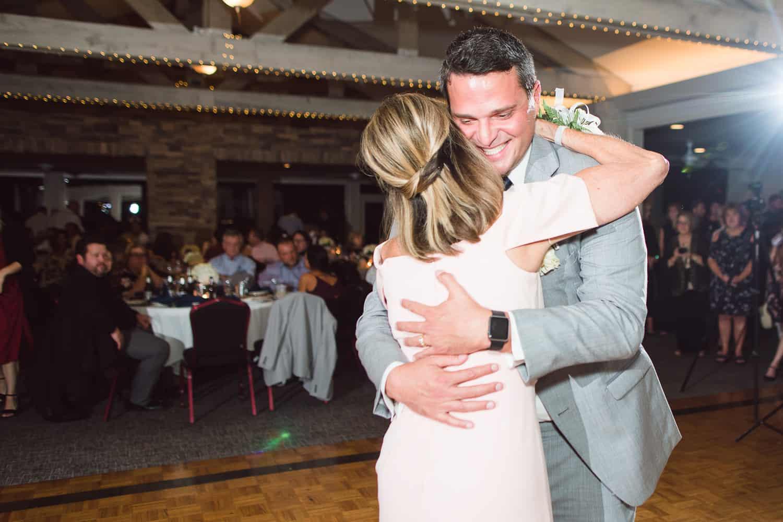 Arrowhead Yacht Club wedding reception