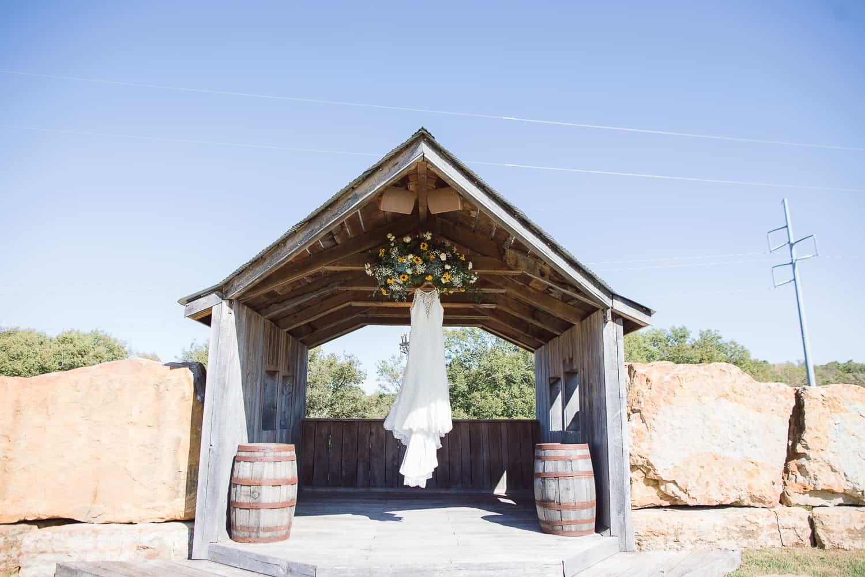 Berry Acres wedding venue fall wedding