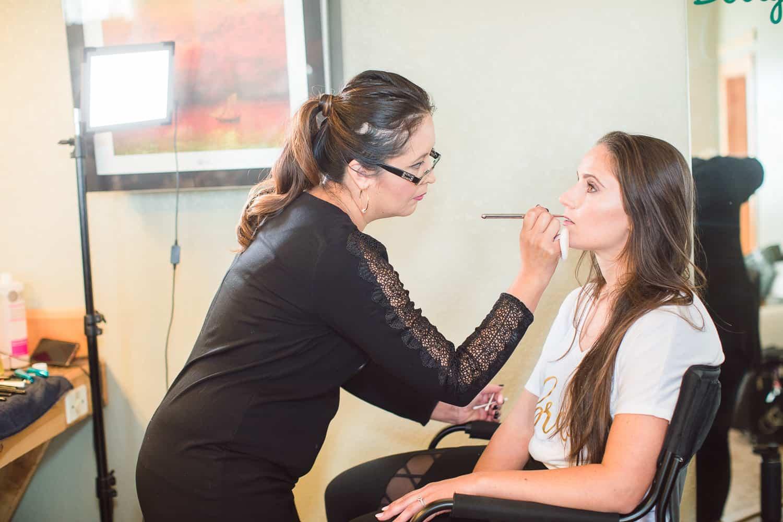 Roxana dolson wedding hair and makeup