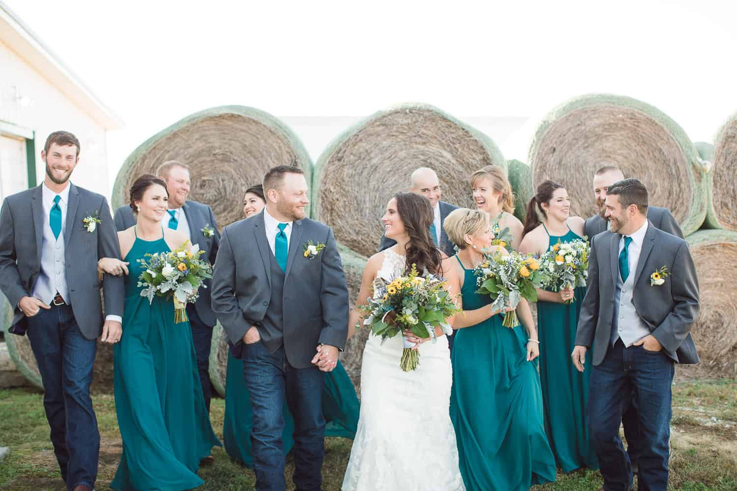Fall weddings at Berry Acres