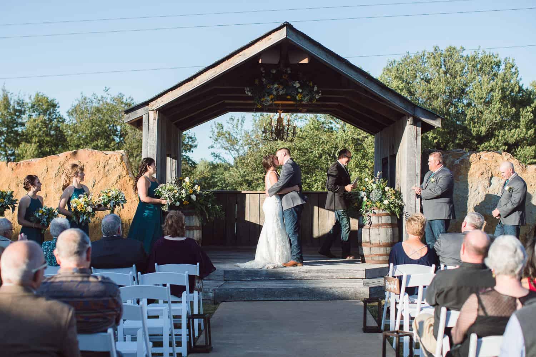 Berry Acres wedding Odessa