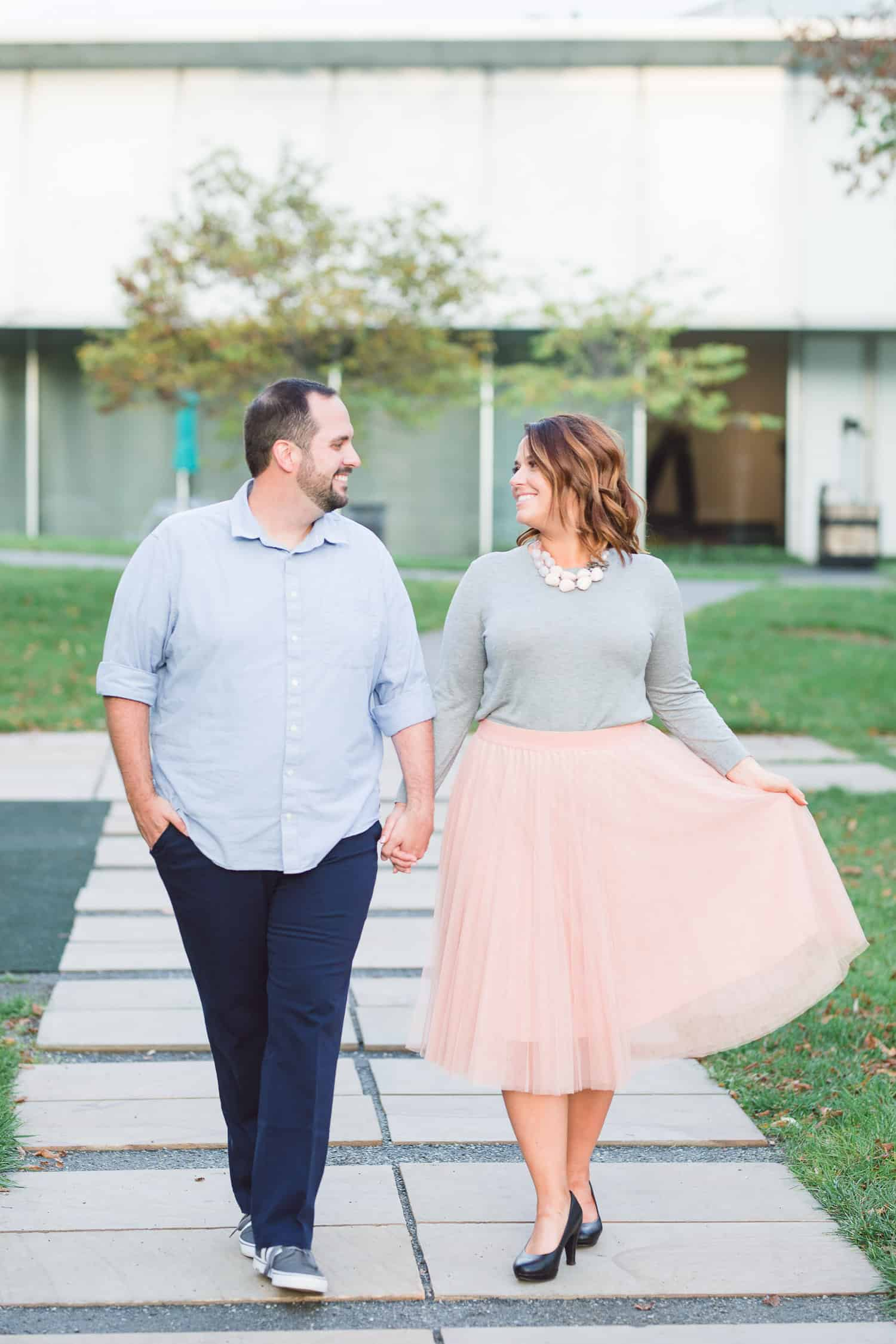 Nelson-Atkins Museum of Art Engagement Session