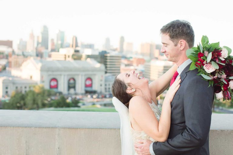 Liberty Memorial wedding portraits