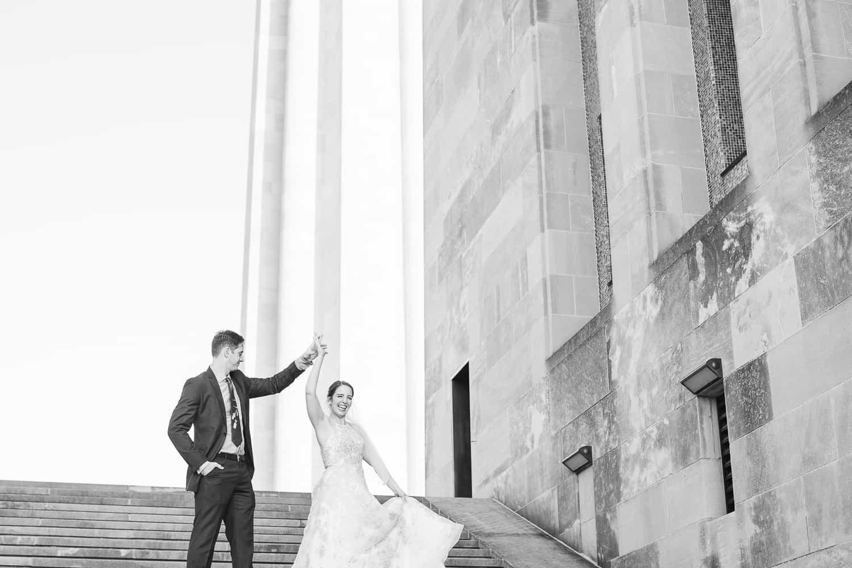 Liberty Memorial wedding portraits
