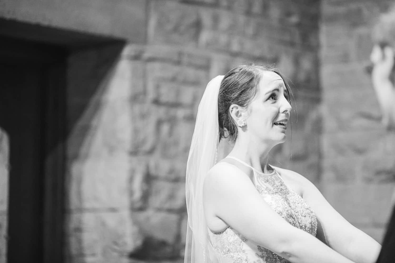 Pilgrim Chapel wedding ceremony Kansas City