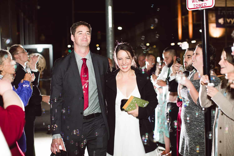 Tom's Town Kansas City wedding