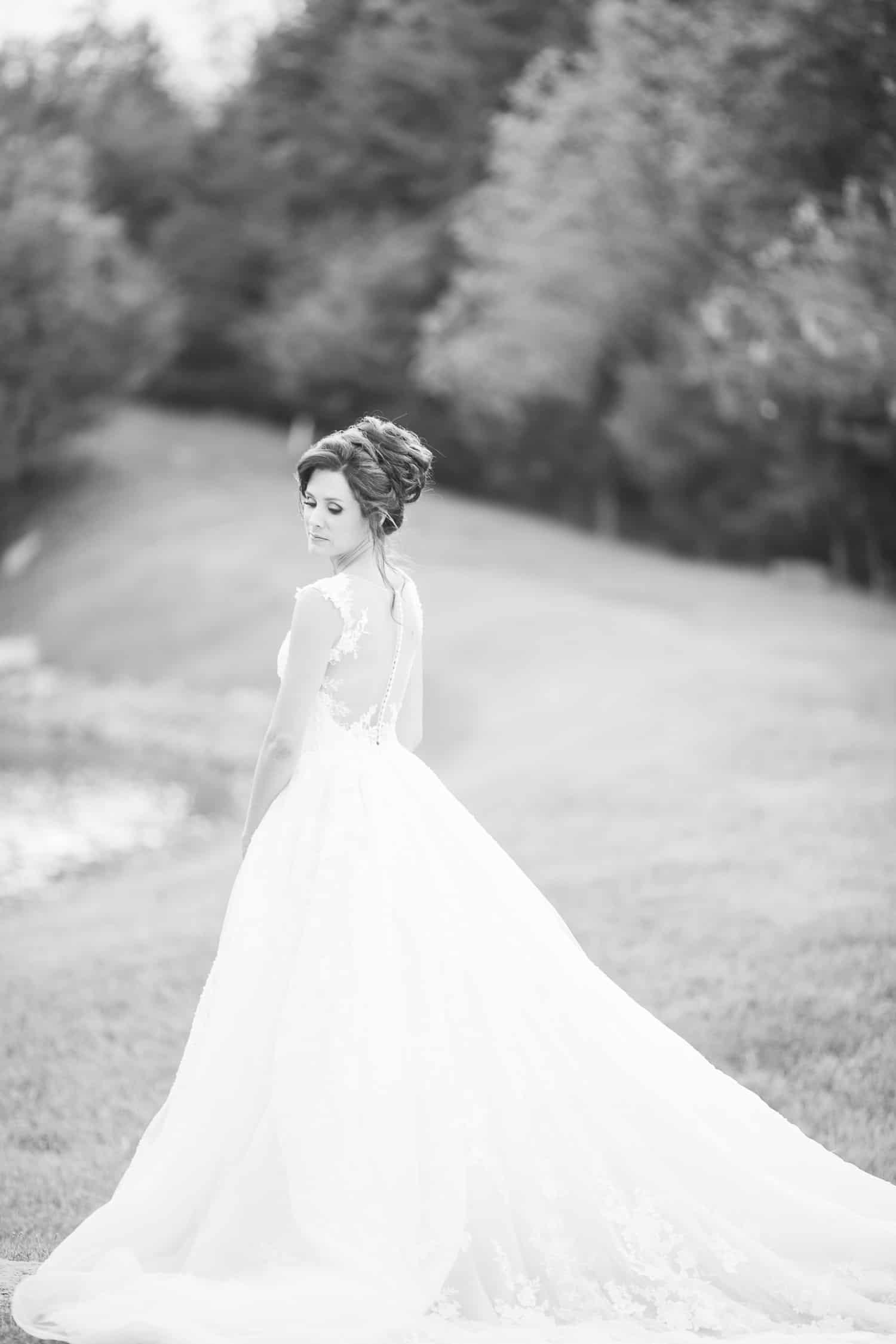 Sunset wedding photos in Kansas