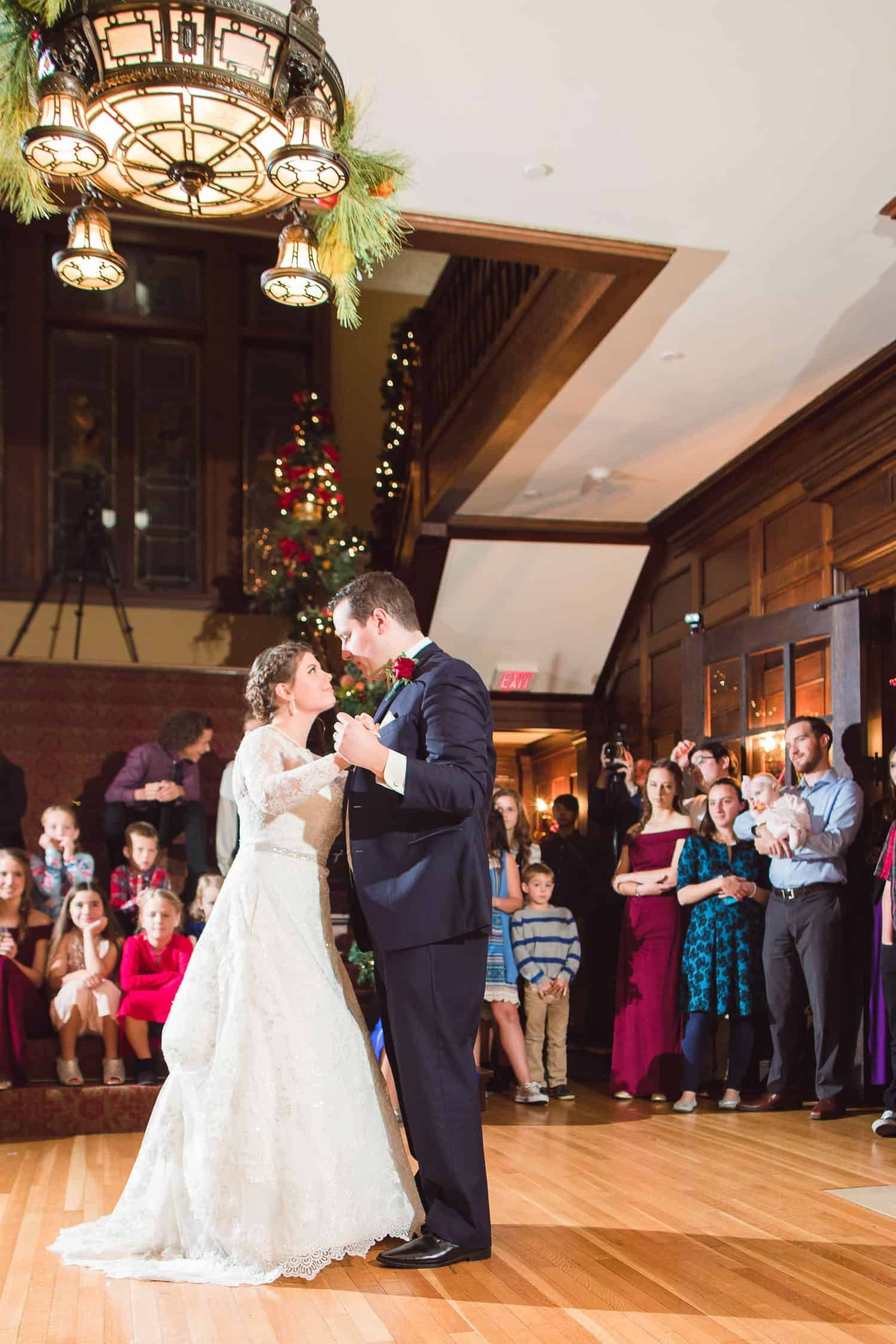 Choreographed first dance in Topeka